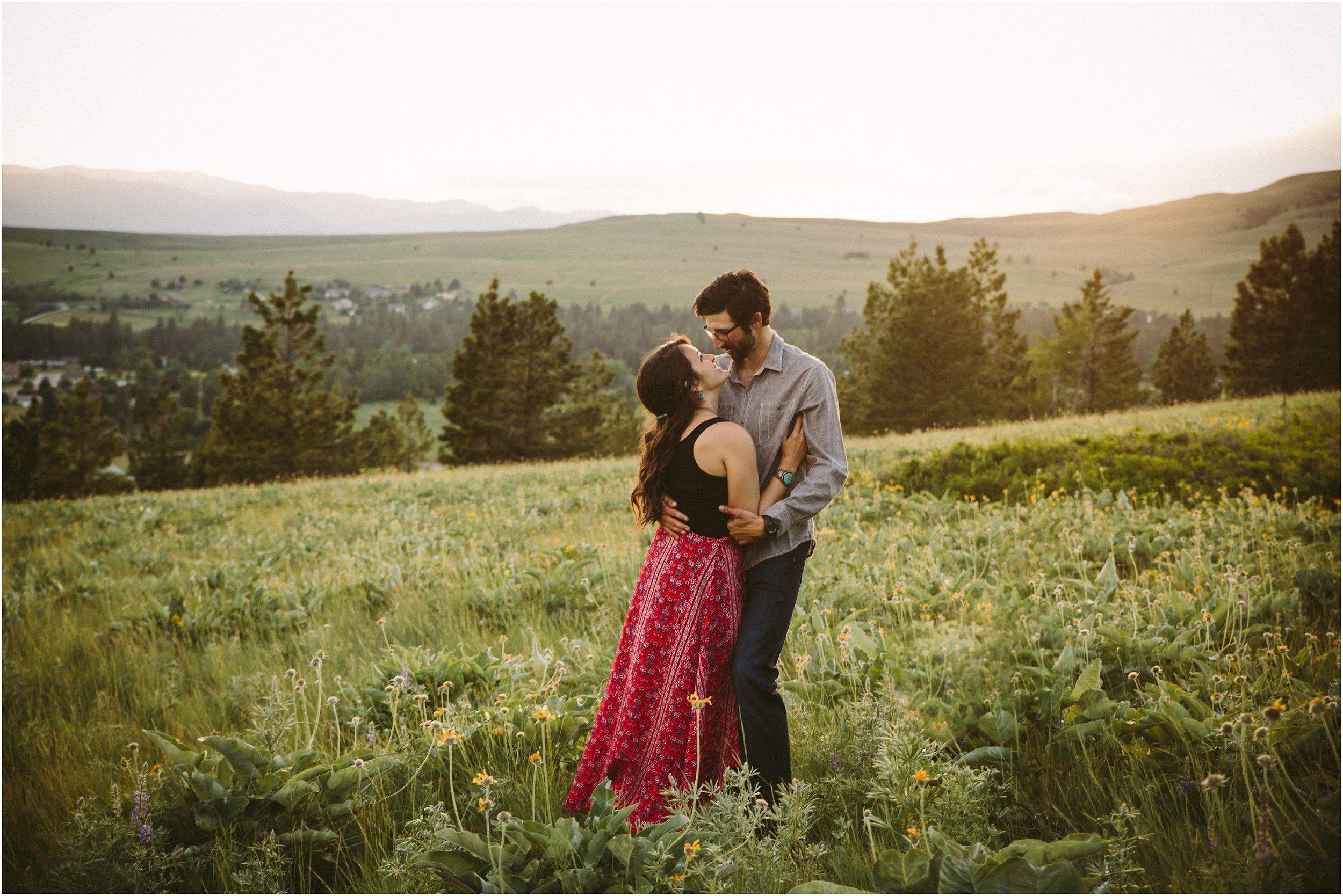 Nick & Madeleine || Missoula MT Engagement Photographer