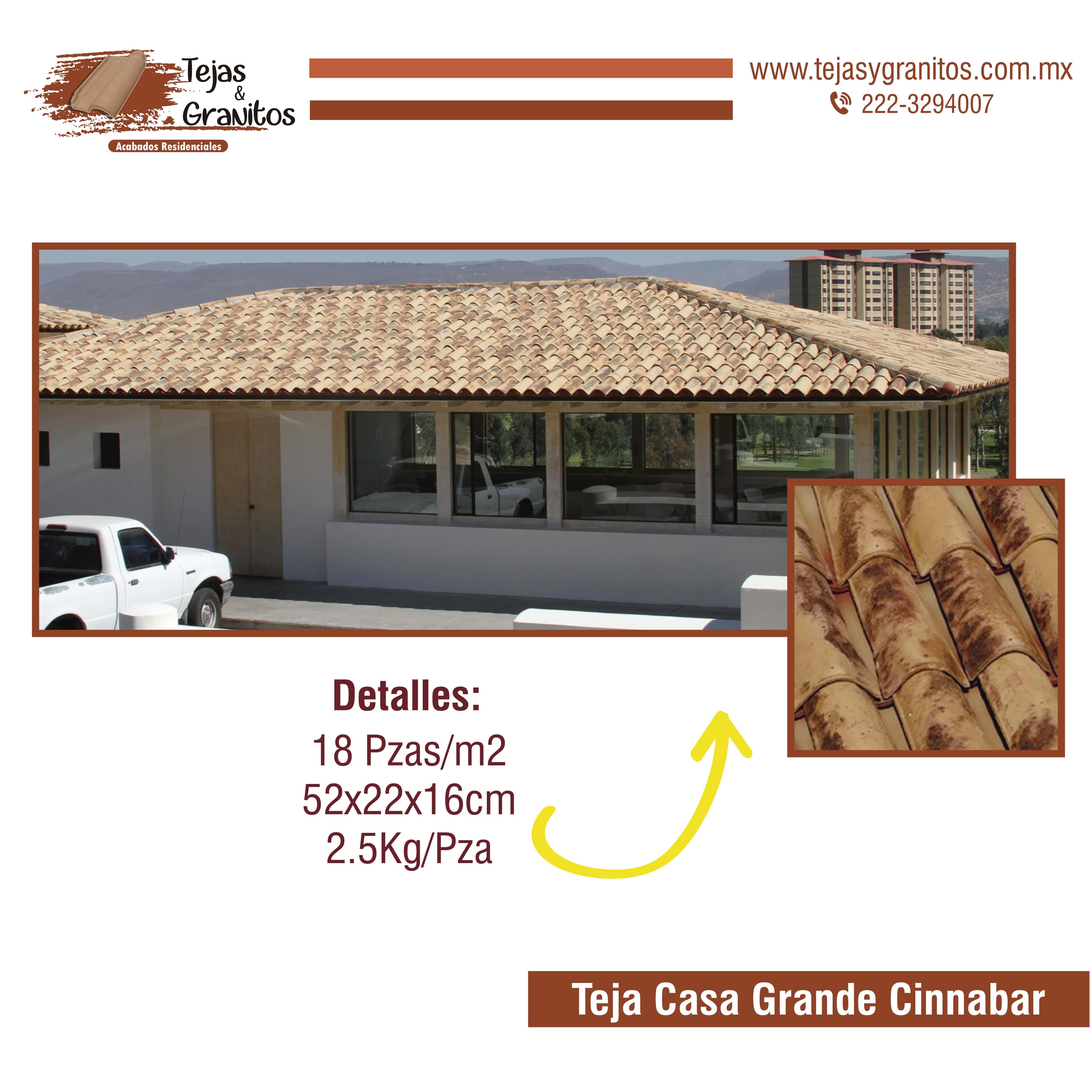 Teja Casa Grande Cinnabar Casas Grandes Teja Tejidos