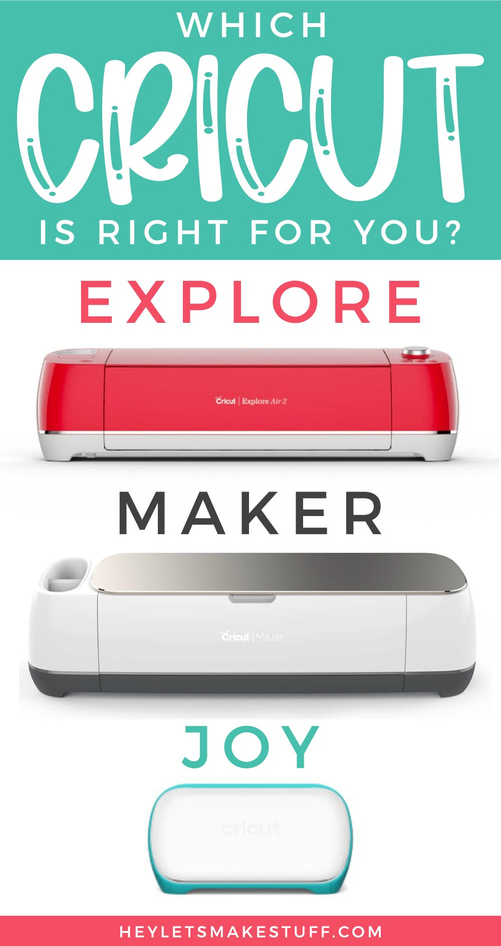 What are the Cricut Machine Differences? in 2020   Cricut ...