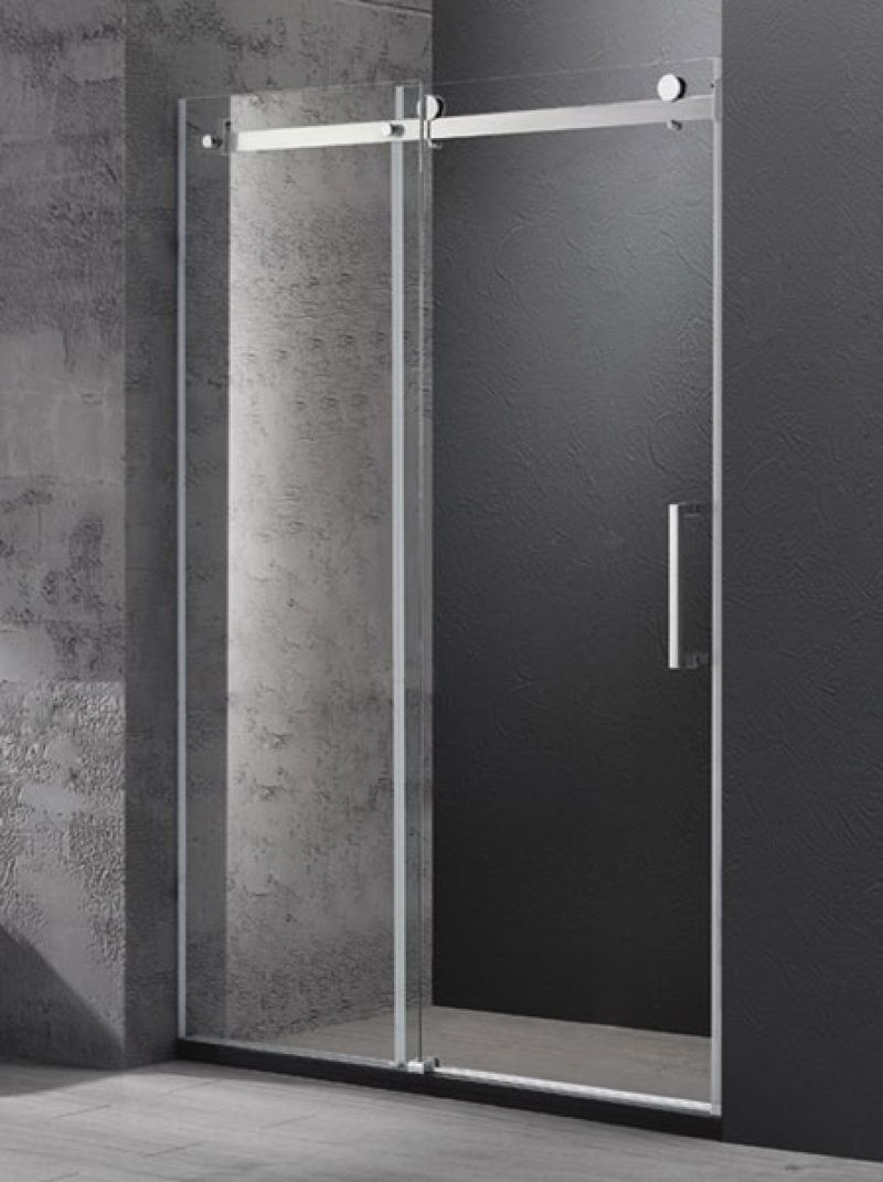 Sliding shower screen - Wall To Wall Frameless Sliding Shower Screen 1500 X 1950 Mm