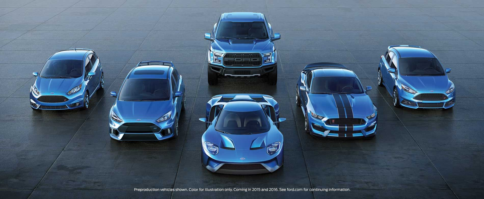 Ford Performance Lineup Poised For A Big Year THE GREAT - 2016 ford car lineup