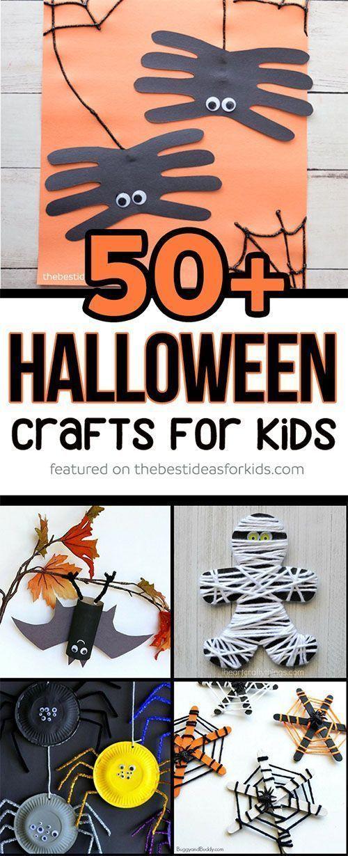 50+ Halloween Crafts for Kids Halloween crafts for kids