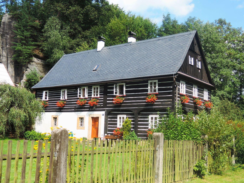 In Vsemily in the Bohemian Switzerland