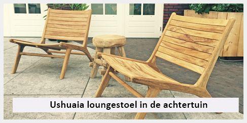Ushuaia Lounge Stoel.Lounge Stoel Achtertuin Ushuaia Tuinstoel En Ibiza Krukje Leuke Foto