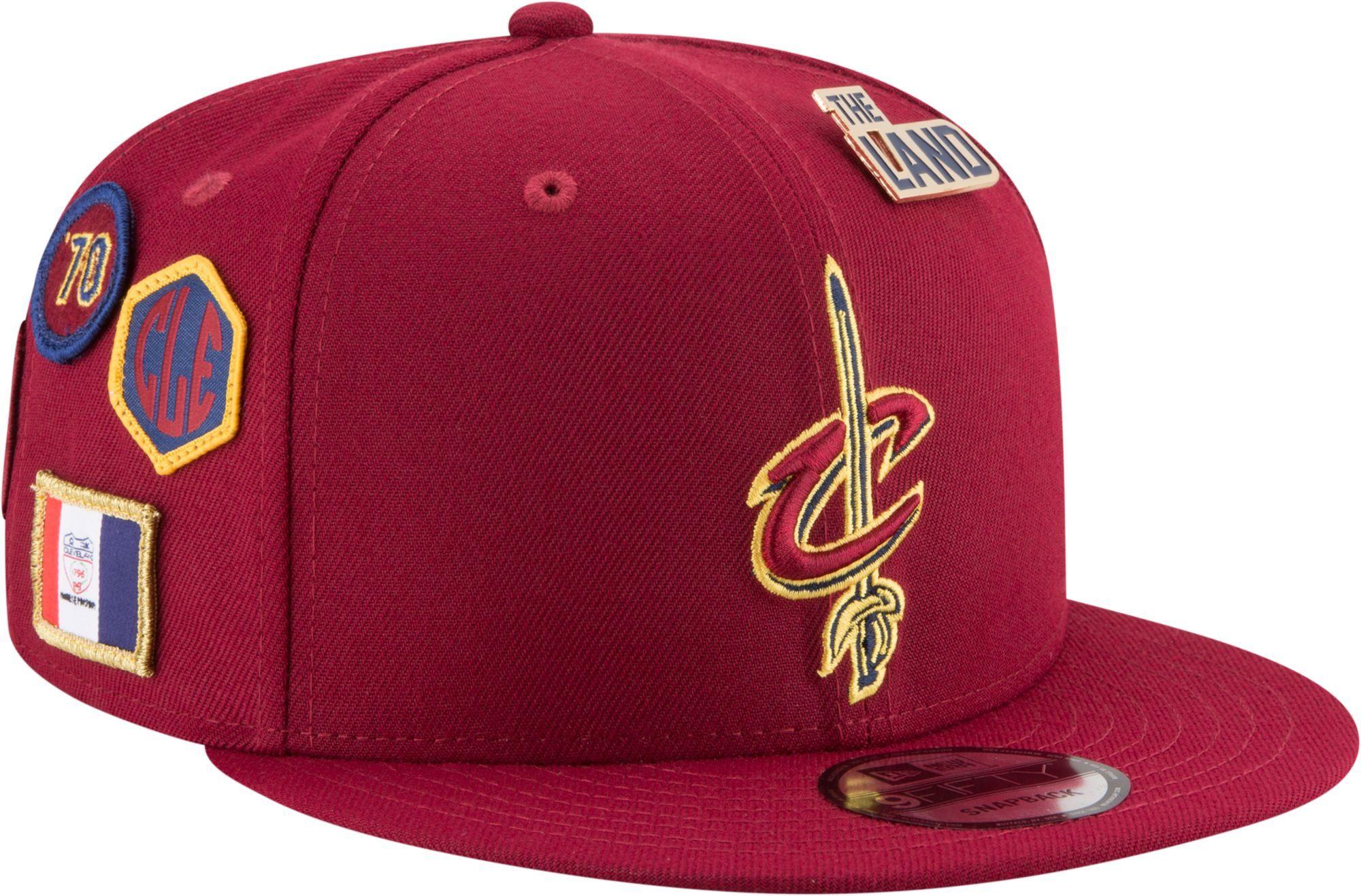 2ce91d30f5b New Era Men s Cleveland Cavaliers 2018 NBA Draft 9Fifty Adjustable Snapback  Hat