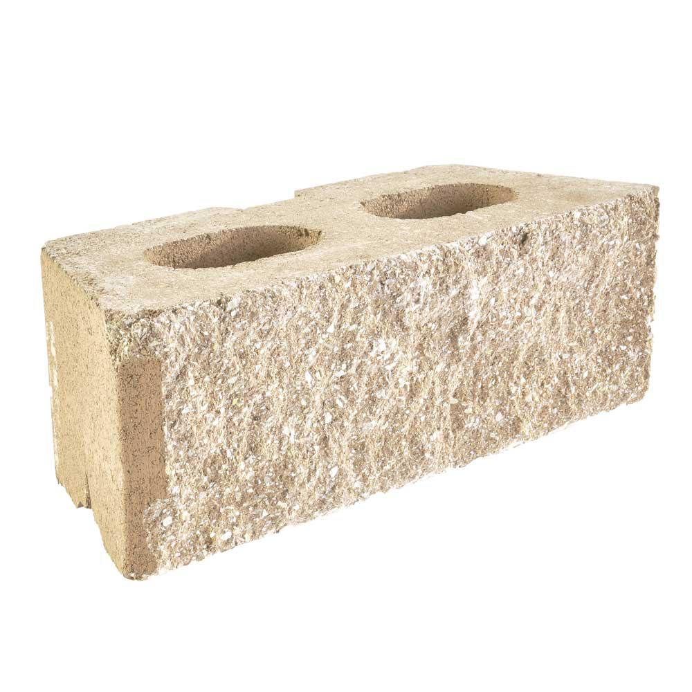 Pavestone Rockwall Large 6 In X 17 5 In X 7 In Limestone Concrete Retaining Wall Block 79808 In 2020 Concrete Retaining Walls Retaining Wall Block Retaining Wall