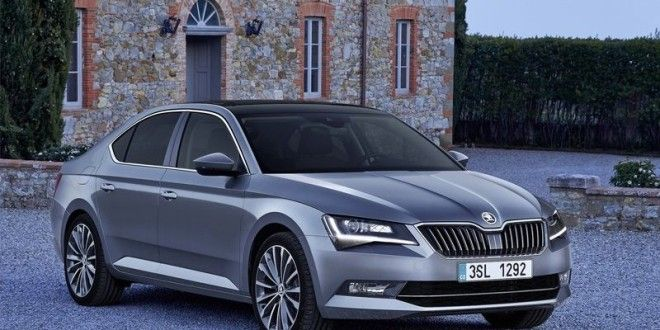 New Skoda Superb 2016 India Launch In The Offing Spied In India