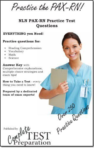 Practice The Pax Rn Nln Pax Rn Practice Test Questions By