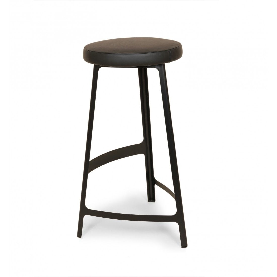 Trio Factory Barstool - Black