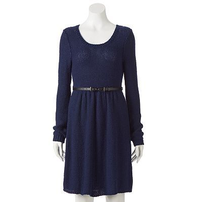 26ebb4ce2dd LC Lauren Conrad Fit   Flare Sweater Dress - Women s ...