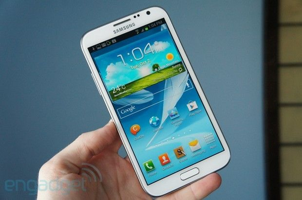 Galaxy Note II (GT-N7100) getting Android 4 1 2 update