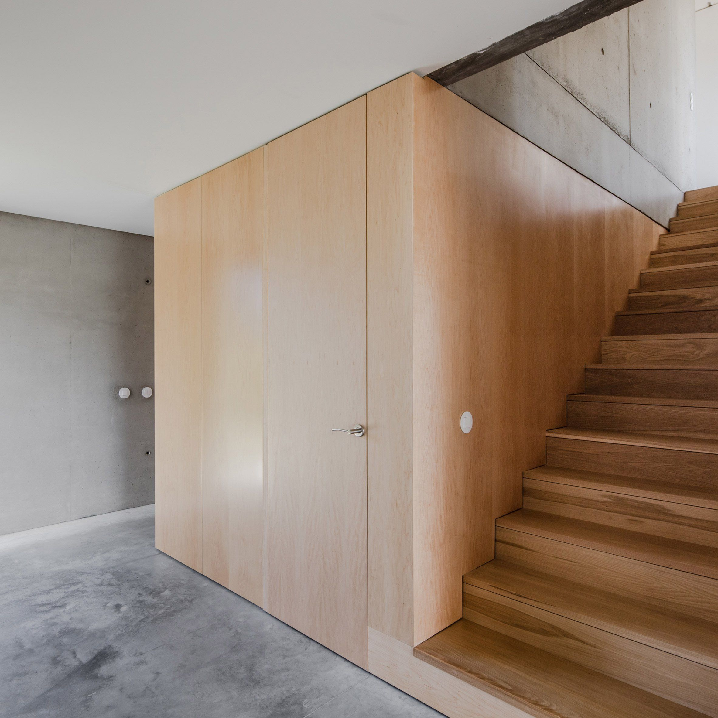 This Concrete Home Cost Only 109k To Build Curbedclockmenumore Arrow It S Located In A Coastal Town In Portugal House Coastal Living Rooms Storey Homes