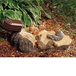 This adorable squirrel wood carving splash block is perfect for wooded areas also best blocks downspouts images vegetable garden roof rh pinterest