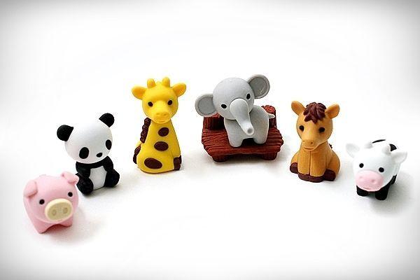 Kawaii Animal ZOO Gomme Iwako Eraser Collection