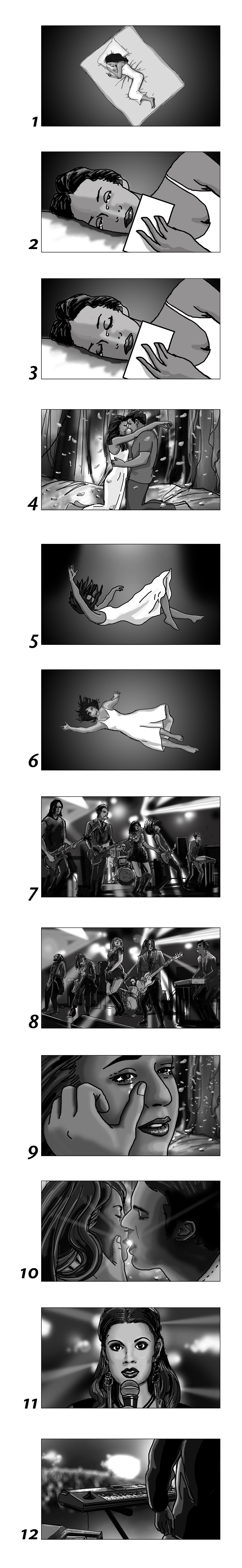 Storyboards for films, commercials and music videos by Cuong Huynh