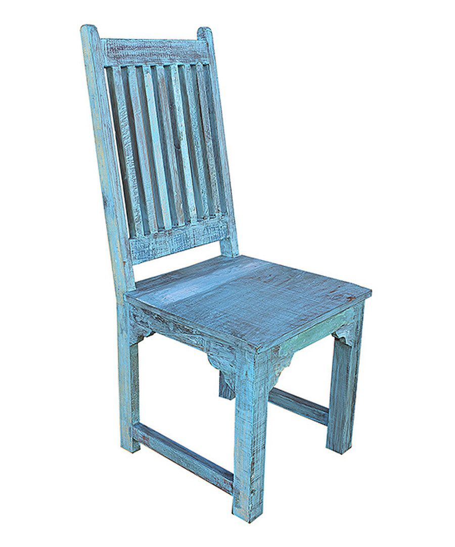 Look at this light blue brix lagoon chair set of two on zulily