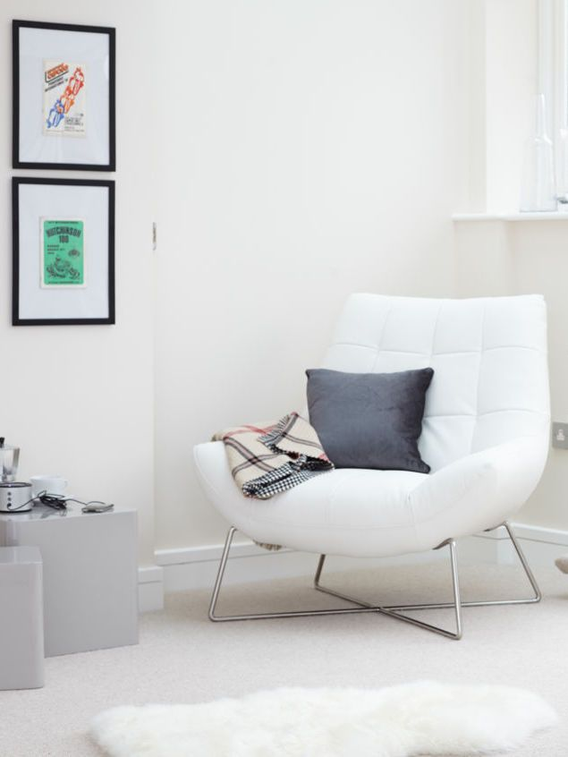 White Bedroom Chair Posture Care Prices Sit Back And Relax In Style With The Gorgeous Canio Leather Occasional Armchair From Danetti