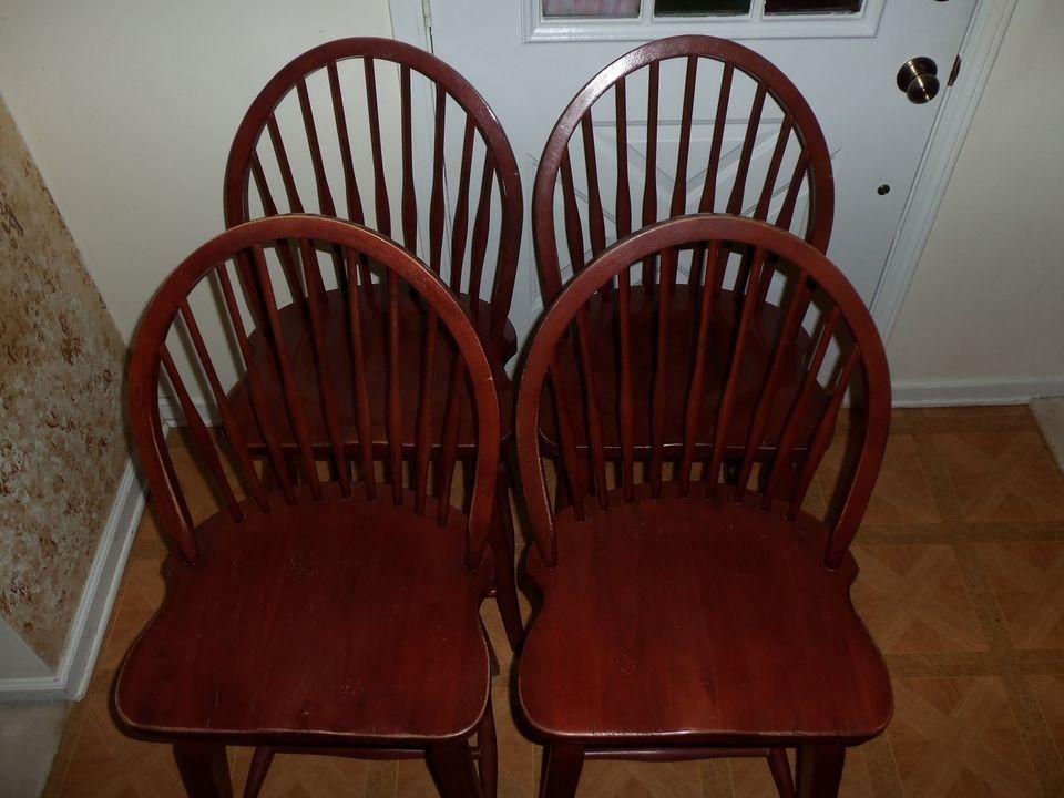 Set Of 4 Broyhill Attic Heirlooms Windsor Bar Stools Broyhill Bar Stools Heirloom Furniture