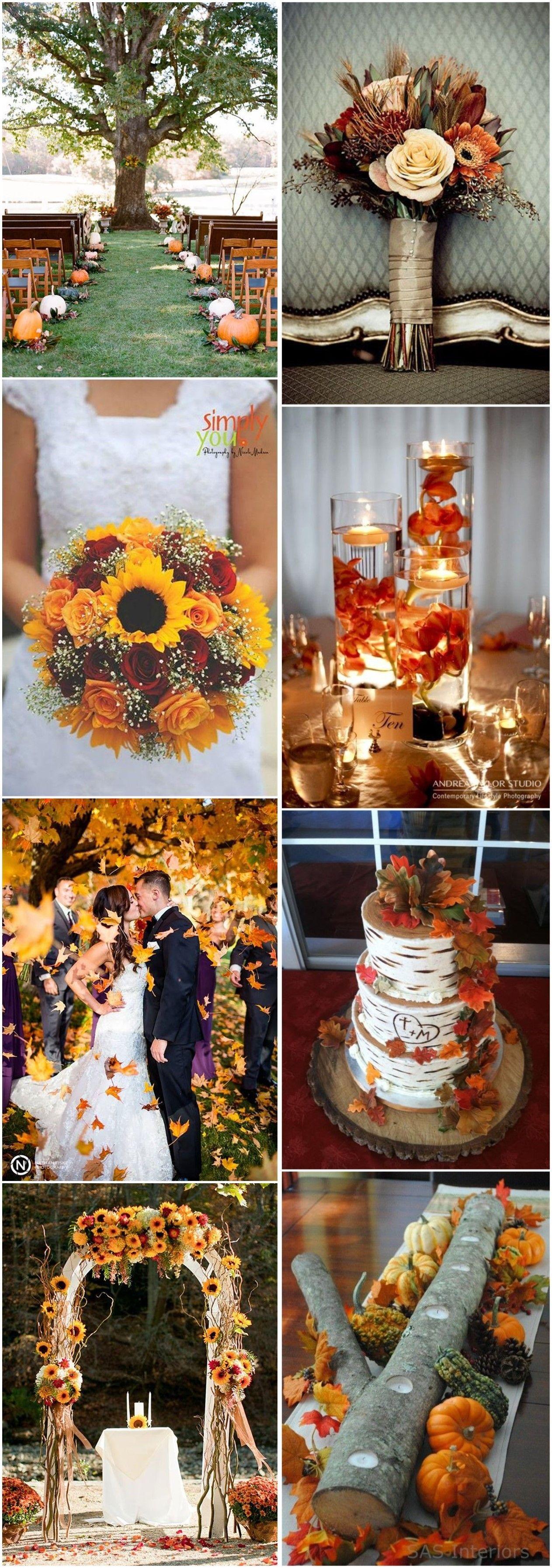 Fall wedding decor 2018   Best Fall Wedding Ideas in   Weddings Wedding and Future