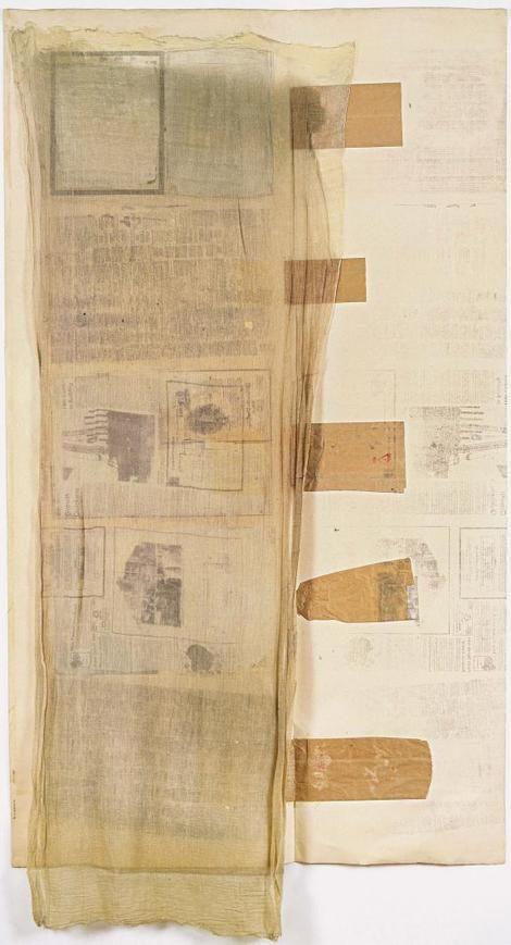 Robert Rauschenberg,  Untitled 1974