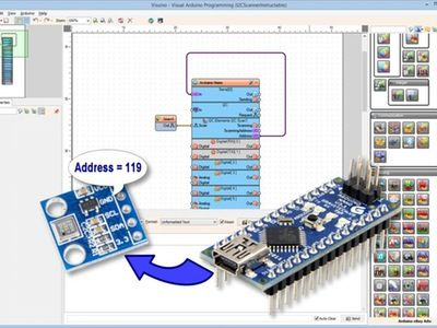 how to find i2c address arduino