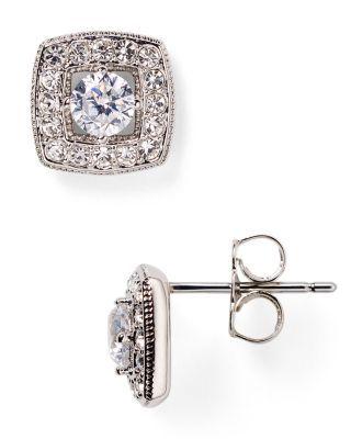 b4954ac6e Nadri Box Stud Earrings | Bloomingdale's | Benefit-Jewelry | Jewelry ...