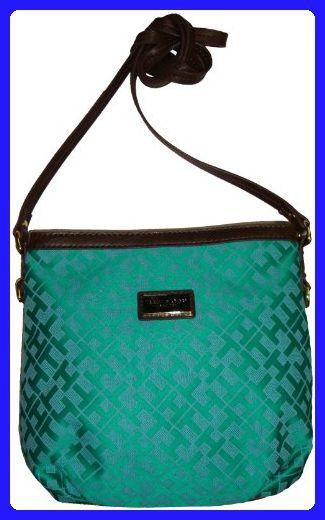 e97850d4164 Tommy Hilfiger Women's/Girl's Xbody/Crossbody Handbag, Green Alpaca - Crossbody  bags (*Amazon Partner-Link)