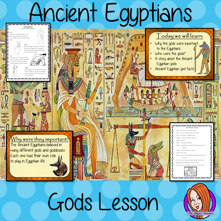 Ancient Egyptian Gods Complete History Lesson Teach Children About Ancient Egyptian Ancient Egyptian Gods Ancient Egyptian Hieroglyphics Ancient Egypt For Kids