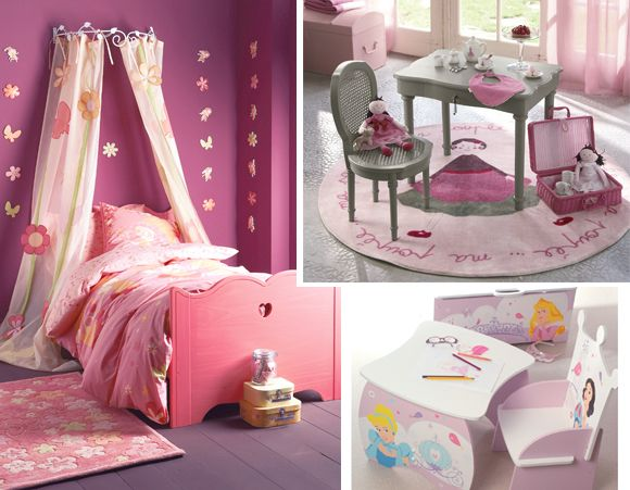 organisation decoration chambre fillette princesse | Chambre ...