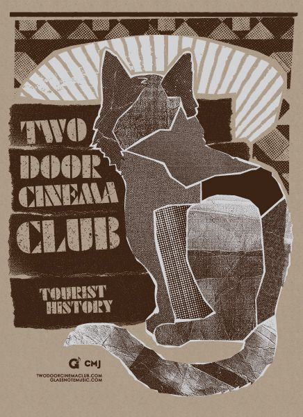 Two Door Cinema Club 2dcc Two Door Cinema Club Psychedelic Poster Music Album Art