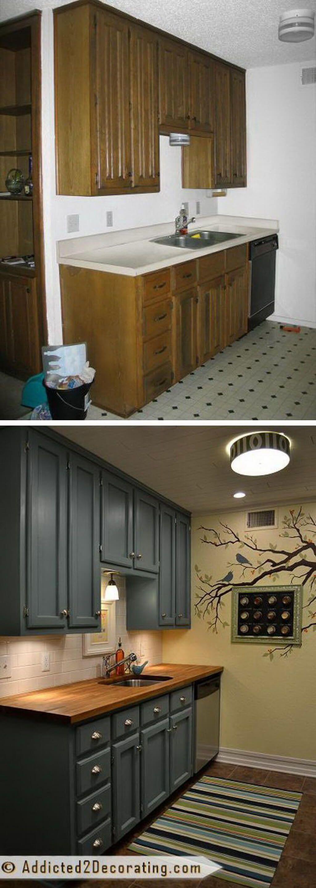 A Dark Vintage Design With Sandy Tiled Floors Cheap Home Decor