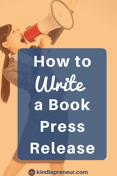How to Write a Book Press Release Like a Pro! | Self Publishing ...