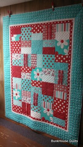 Ann's Swirly Girly Quilt is tons of fun! What a creative use of ... : use of quilt - Adamdwight.com