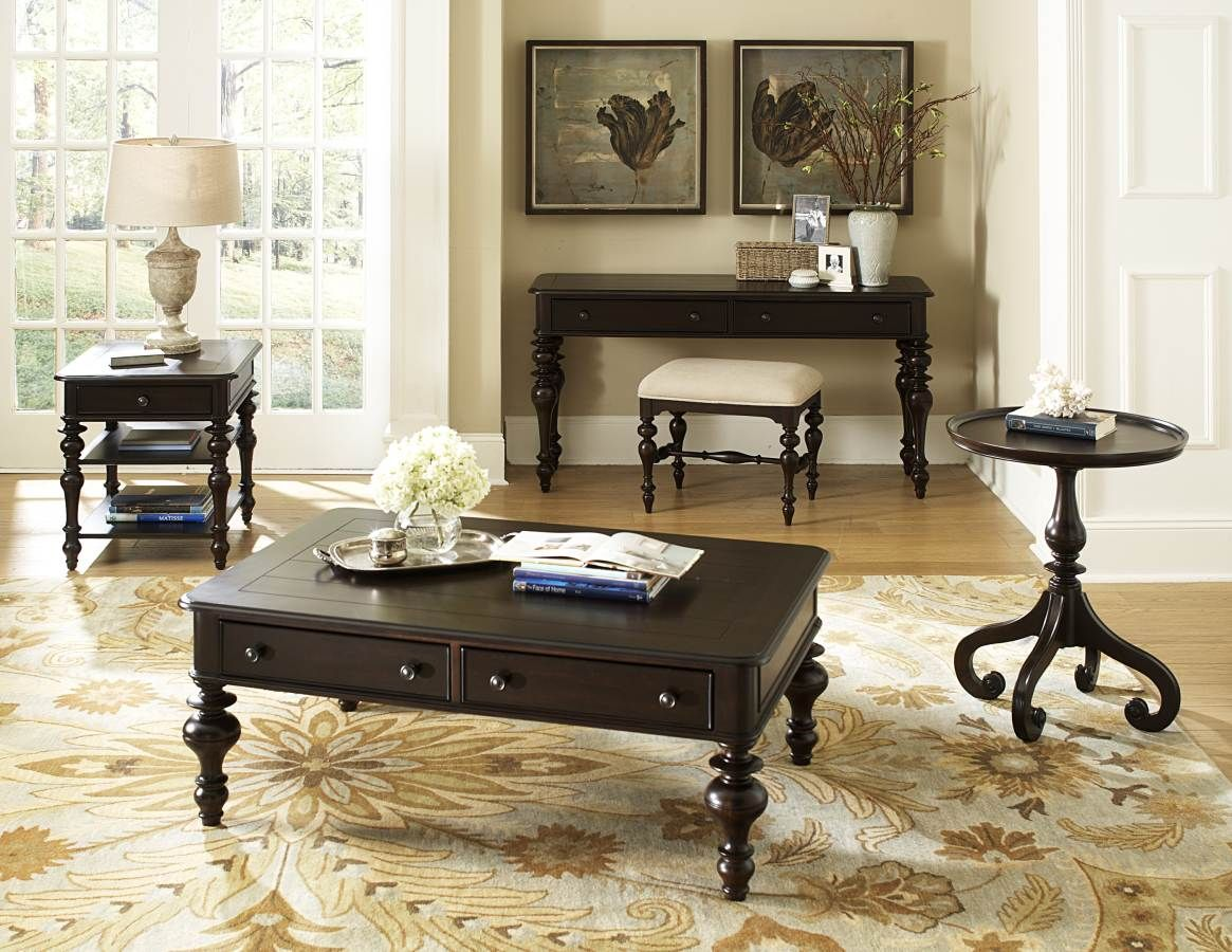 Eastover neutral gray driftwood cocktail table by home elegance