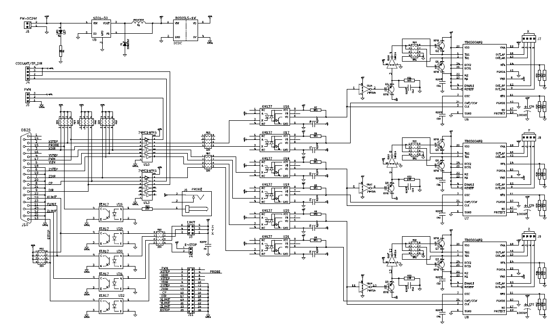 e bike controller wiring diagram cnc hacks projects cnc engraver schematics yoocnc tb6560 wiring diagram