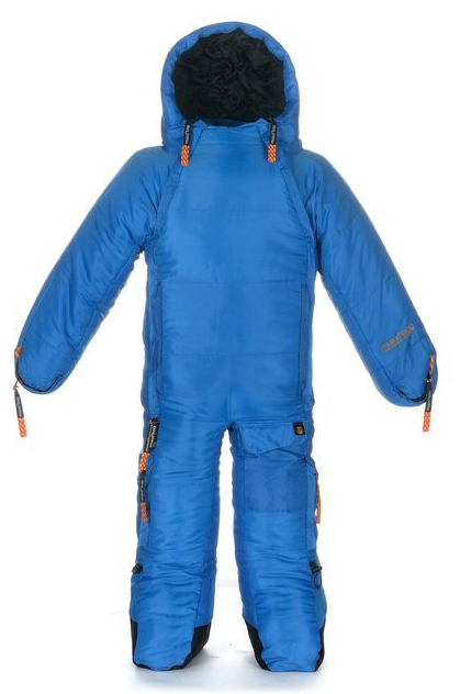Modern Reinvention Of The 80 S Snow Suit Musucbag A Sleeping Bag With Arms Legs Hilarious