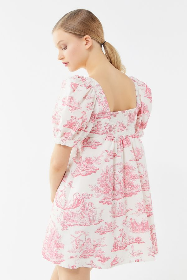 51f031b25a Laura Ashley UO Exclusive Penelope Toile Babydoll Dress in 2019 ...