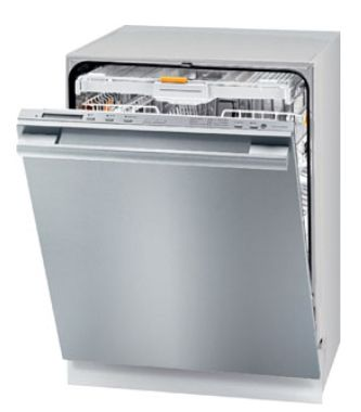 Dimension Dishwasher G5575 Scvi Miele Used Custom Door Panel