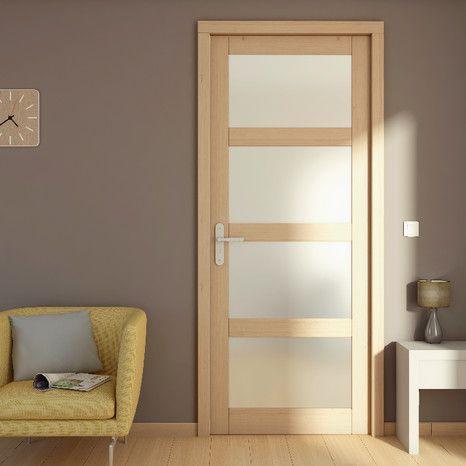 bloc porte bois larg 73 cm droite en 2019 salon porte. Black Bedroom Furniture Sets. Home Design Ideas