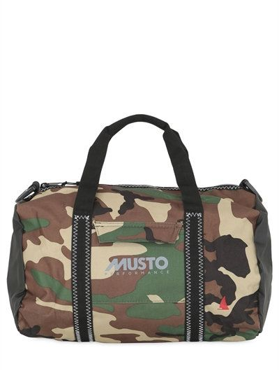 59be708e10e1 MUSTO 18L GENOA SMALL CAMO CARRYALL DUFFLE BAG