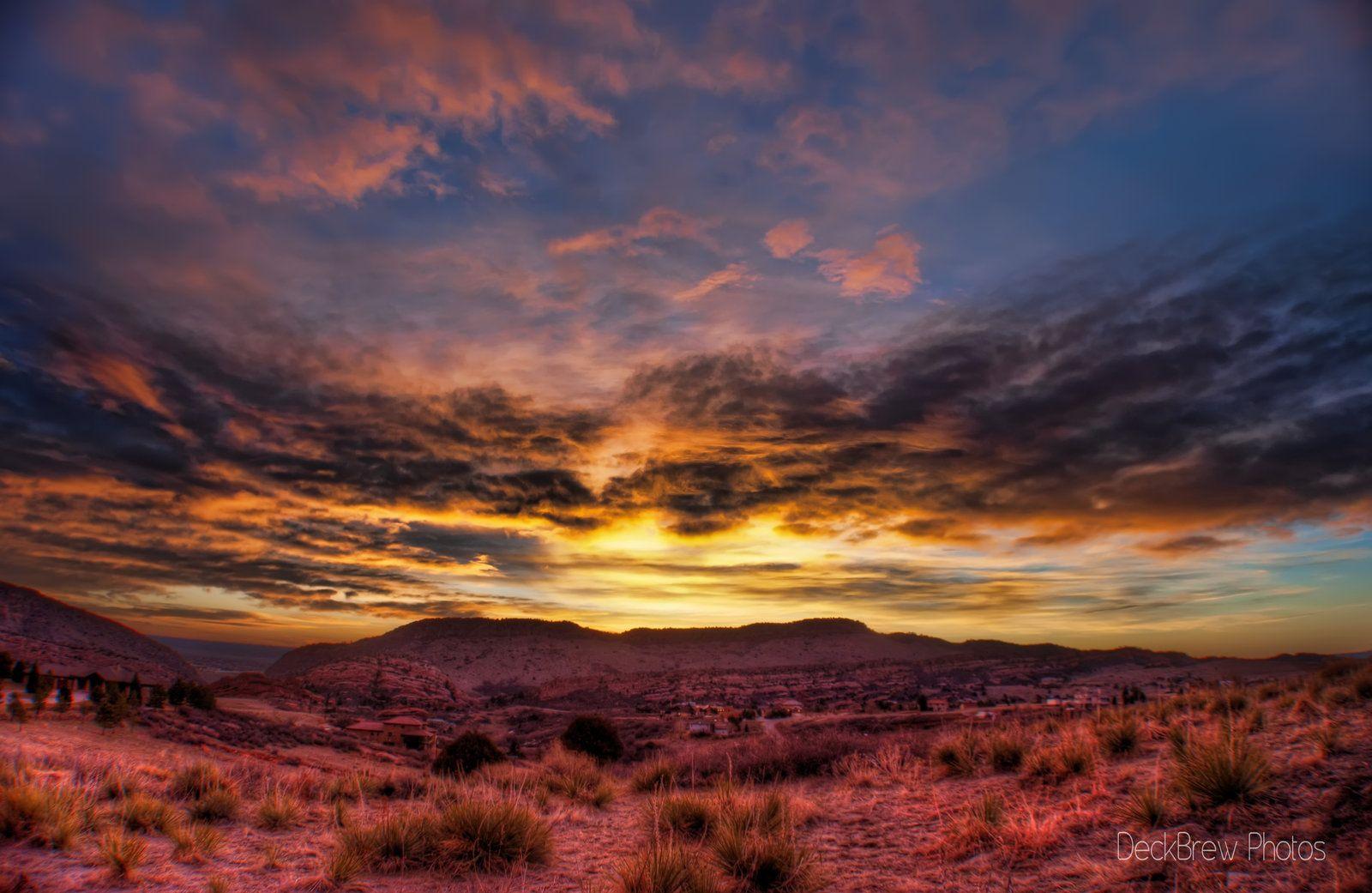 Sunrise Bluff by TheDeckBrew.deviantart.com on @deviantART