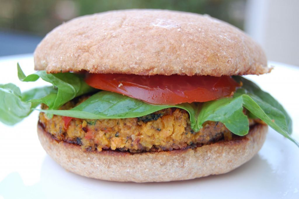 Recipe: Veggie Burgers (another meal you can freeze!) made with Homemade Breadcrumbs
