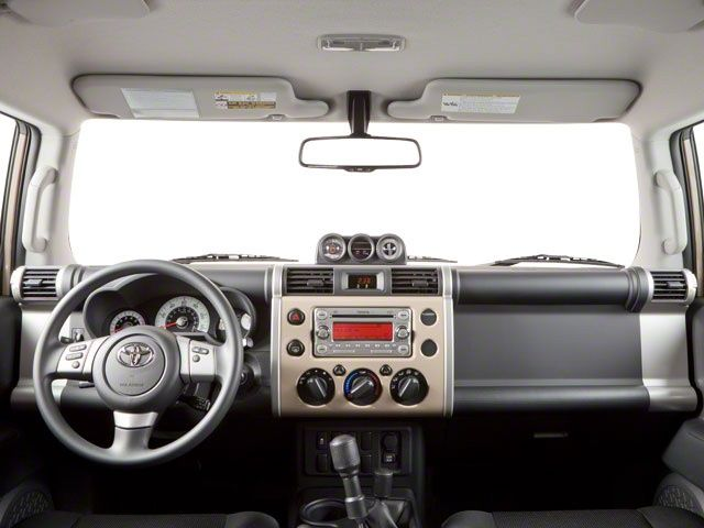 Love the FJ Cruiser interior- reminds me of a 60s Range Rover