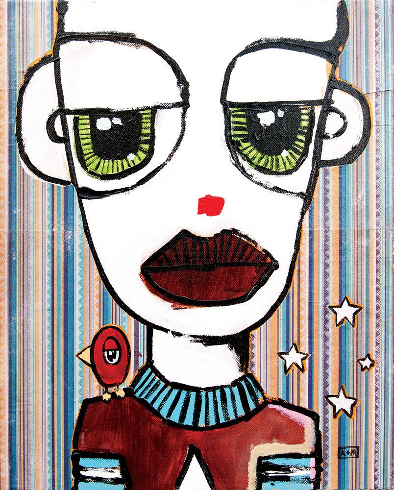 Billy the Clown Collaborative art, Creative art