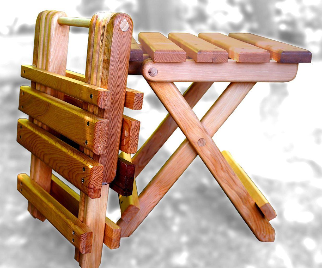 Collapsible Folding Adirondack Table Wood folding table