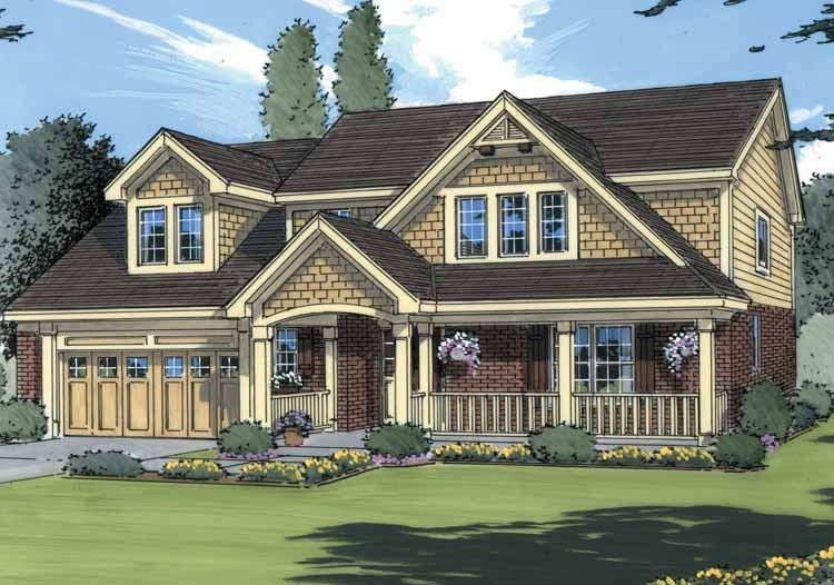 Eplans Craftsman House Plan Warm And Welcoming 1707 Square Feet And 3 Bedrooms S From Eplans Country Style House Plans House Plans Colonial House Plans