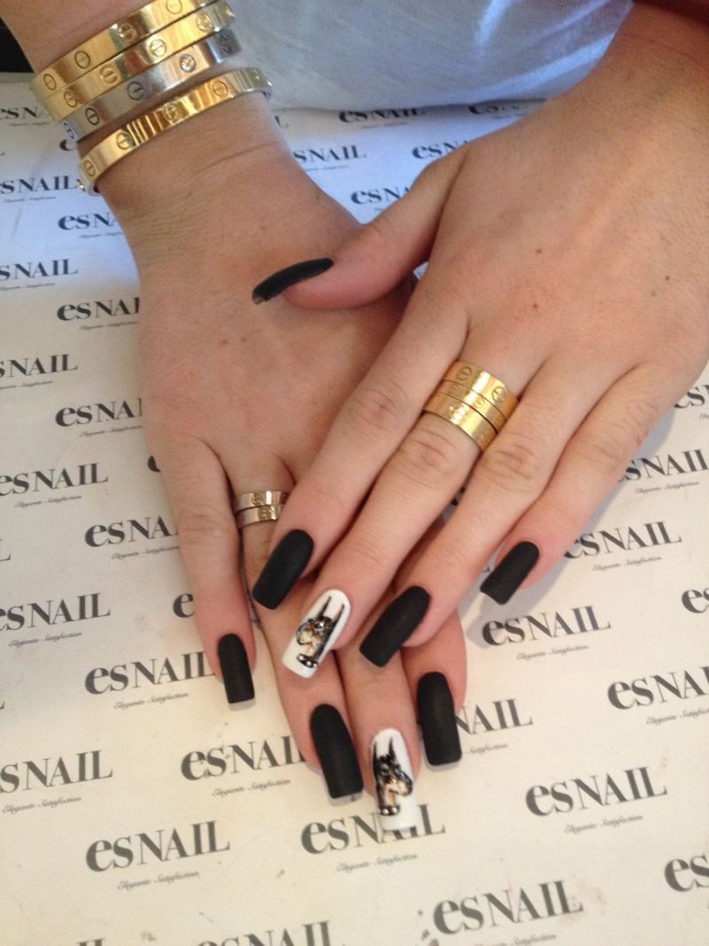 I love how narrow these are | NAIL TRENDZ | Pinterest | Nail envy ...