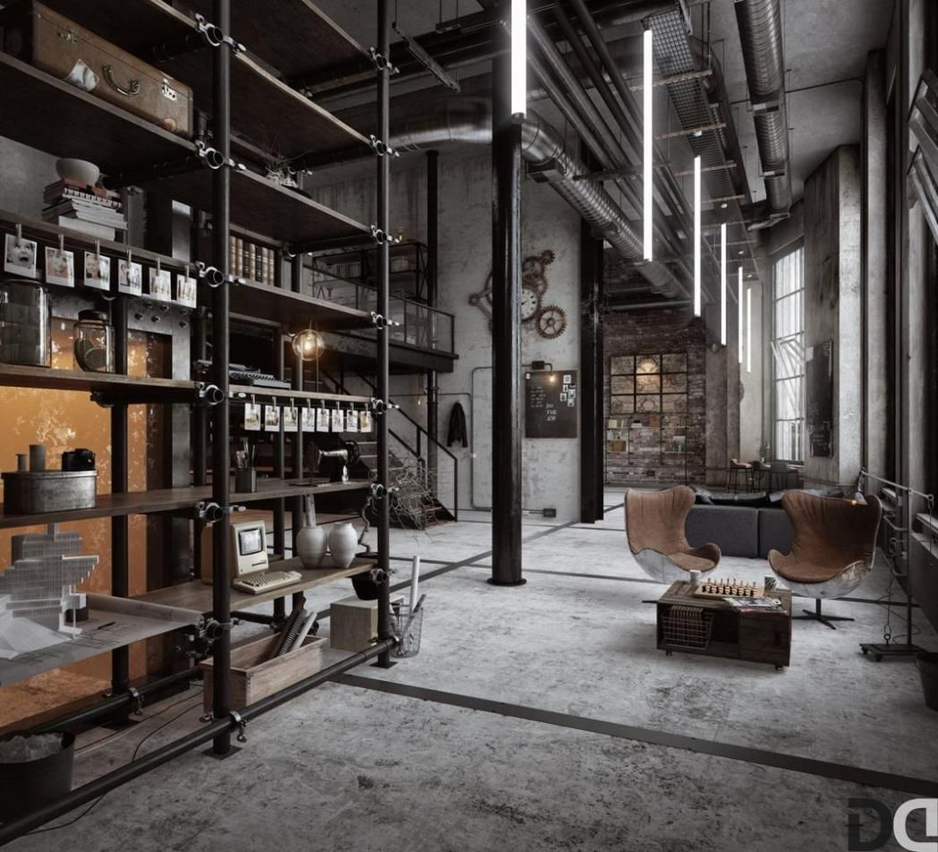 40 lofts qui vont vous rendre dingue de jalousie for Deco loft industriel