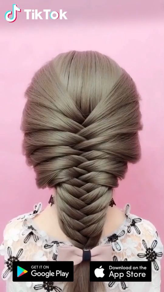 Super Easy To Try A New Hairstyle Download Tiktok Today To Find More Amazing Videos Also You Can Post Videos To Sh Long Hair Styles Hair Beauty Hair Hacks