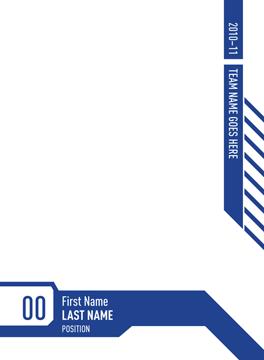 Create Hockey Card Custom Trading Cards Wizard Hockey Cards Cards Card Template